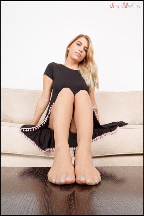 Edna-Hot-blonde-with-big-pantyhosed-feet-10